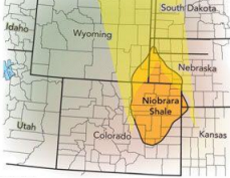 Image result for colorado shale formations